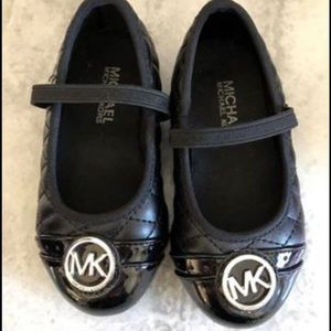 Girls size 7 MK shoes